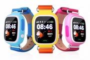 Детские смарт часы Q90 c GPS трекером (Бесплатная доставка)